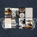 Love Found Here digital scrapbooking page by editorialdragon featuring Chesterfield Kit by Sahlin Studio