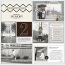 The Best Memory pocket scrapbooking double page by mrivas2181 featuring Chesterfield Kit by Sahlin Studio