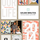 2014 digital pocket scrapbooking page by Celeste using This New Year (MPM Folio Add-on) by Sahlin Studio
