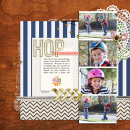 digital scrapbooking layout created by rlma featuring January 14 Template from Year of Templates '14 by Sahlin Studio