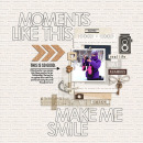 Moments Like This digital scrapbook page by HeatherPrins featuring Moments Templates by Amy Martin and Sahlin Studio