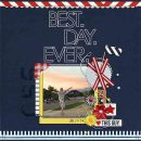 Best Day Ever digital scrapbooking page by mamatothree featuring Moments Templates by Amy Martin and Sahlin Studio