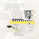Moments Like This digital scrapbook page by mrivas2181 featuring Moments Templates by Amy Martin and Sahlin Studio