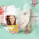 Oh How I Love You digital scrapbooking page by amberr using MPM Hello and Add Ons by Sahlin Studio