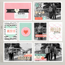 Hello digital pocket scrapbooking page by ctmm4 using MPM Hello and Add Ons by Sahlin Studio