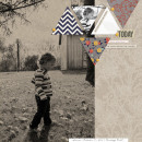 digital scrapbooking layout created by EHStudio featuring Year of Templates vol 14 by Sahlin Studio
