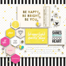 Be You digital scrapbooking page by margelz featuring Photo Journal No. 1 (Word Arts & Templates) by Sahlin Studio