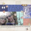 Paris digital scrapbooking page by norton94 featuring Photo Journal No. 1 (Word Arts & Templates) by Sahlin Studio