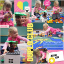 Duplo Club digital scrapbooking page by yzerbear19 featuring Photo Journal No. 1 (Word Arts & Templates) by Sahlin Studio