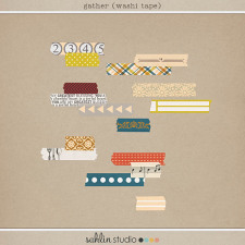 Gather (Washi Tape) by Sahlin Studio