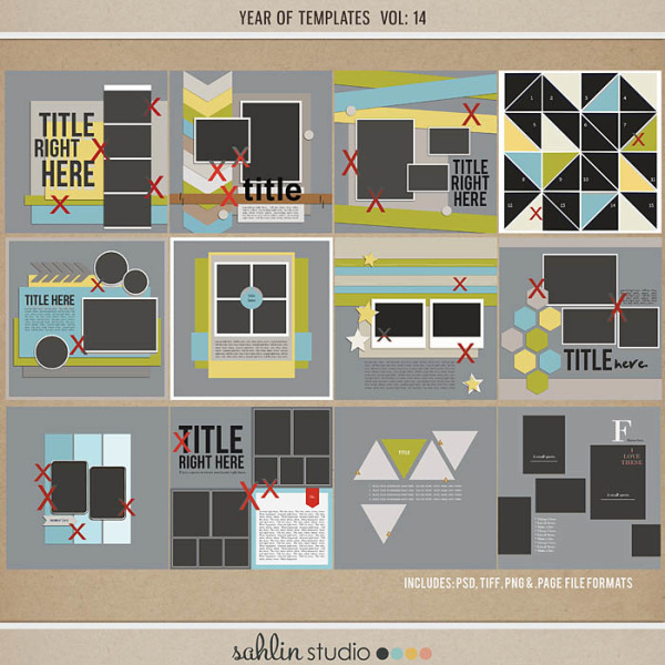 Year of Templates vol. 14 by Sahlin Studio