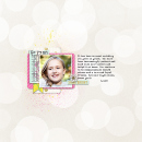 Shine Bright digital scrapbooking page by ashleywb featuring Shine Bright Kit and Journal Cards by Sahlin Studio