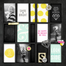 Shine Bright pocket scrapbooking page by sucali featuring Shine Bright Kit and Journal Cards by Sahlin Studio