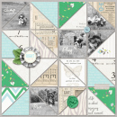 PLAY Dog digital scrapbooking layout created by rfeewjlj featuring Year of Templates vol 14 by Sahlin Studio