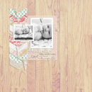 BABY Sweet digital scrapbooking layout created by EHStudios featuring Year of Templates vol 14 by Sahlin Studio