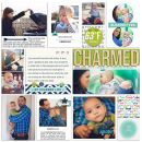 Charmed digital pocket scrapbooking page by mrivas2181 using MPM Charmed and Add-Ons by Sahlin Studio