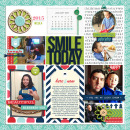 Week 4 digital pocket scrapbooking page by raquels using MPM Charmed and Add-Ons by Sahlin Studio