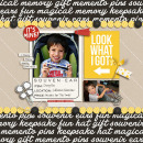Disney Souvinear digital scrapbooking page by mikinenn using Project Mouse (SouvenEARS) by Britt-ish Designs and Sahlin Studio