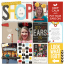Got My Ears on digital pocket scrapbooking page by julie using Project Mouse (SouvenEARS) by Britt-ish Designs and Sahlin Studio