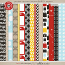 Project Mouse (SouvenEARS): Papers by Britt-ish Designs and Sahlin Studio - Perfect for your Project Life or Project Mouse album!!