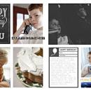 Happy Birthday To You digital scrapbook page by taramck using Birthday Cake by Sahlin Studio