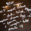 CUT OUTS - Project Mouse: Hand Drawn Words by Britt-ish Designs & Sahlin Studio & Perfect to use your Silhouette for your Disney Project Life album!