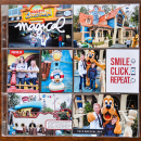 Magical Disney Project Life pocket scrapbooking page by kristasahlin using Project Mouse Basics (No.2) by Britt-ish Designs & Sahlin Studio