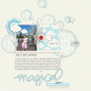 Magical digital scrapbooking page by MrsPeel using Project Mouse Basics (No.2) by Britt-ish Designs & Sahlin Studio