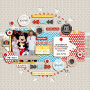 My Happy Place digital scrapbooking page by pne123 using Project Mouse Basics (No.2) by Britt-ish Designs & Sahlin Studio
