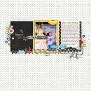 Strong Max digital scrapbooking page by rlma using Project Mouse Basics (No.2) by Britt-ish Designs & Sahlin Studio