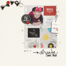 Never Grow Up digital scrapbooking page by sucali using Project Mouse Basics (No.2) by Britt-ish Designs & Sahlin Studio