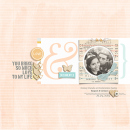 love digital scrapbook layout created by raquels featuring stamped sentiments by sahlin studio