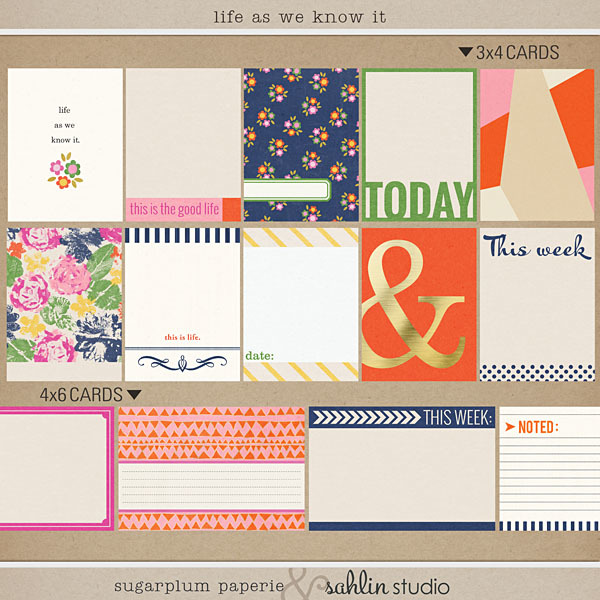 LIfe As We Know It by Sahlin Studio and Sugarplum Paperie