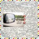 """Travel digital scrapbook layout by FarrahJobling using """"You Are Here"""" collection by Sahlin Studio"""
