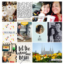 "Travel | Field Trip digital Project Life page by neeceebee using ""You Are Here"" collection by Sahlin Studio"