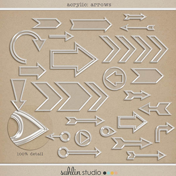 Acrylic: Arrows by Sahlin Studio