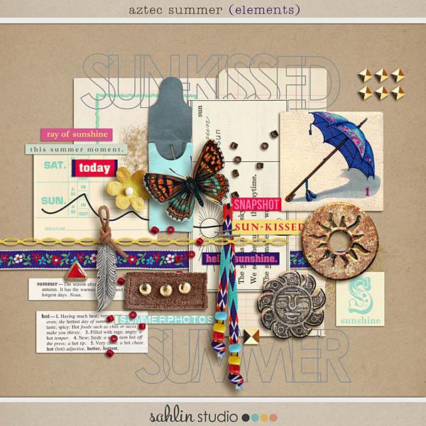 Aztec Summer (Elements) by Sahlin Studio