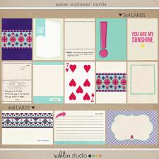 Aztec Summer (Journal Cards) by Sahlin Studio