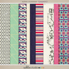 Aztec Summer (Papers) by Sahlin Studio