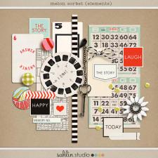 Melon Sorbet (Elements) by Sahlin Studio