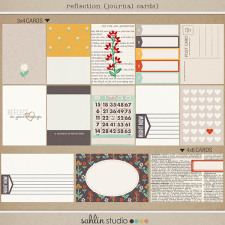 Reflection (Journal Cards) by Sahlin Studio