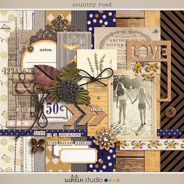 Country Road (Kit) by Sahlin Studio