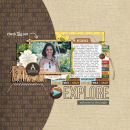 Explore digital scrapbooking page by mrivas2181 using Project Mouse (Adventure) by Britt-ish Designs and Sahlin Studio