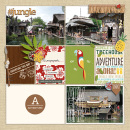 Adventure digital scrapbooking page by sucali using Project Mouse (Adventure) by Britt-ish Designs and Sahlin Studio