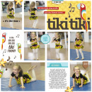 Tiki Tiki digital pocket pocket scrapbooking page by yzerbear19 using Project Mouse (Adventure) by Britt-ish Designs and Sahlin Studio