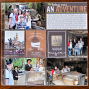 Disney Adventureland Indiana Jones pocket Project Life page by kristasahlin using Project Mouse (Adventure) by Britt-ish Designs and Sahlin Studio