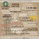 Project Mouse (Adventure): Photo Overlays | Digital Scrapbook Word Art | Britt-ish Designs and Sahlin Studio