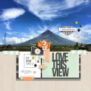 Love This View digital scrapbooking page by dianeskie using Viewpoint (Kit) by Sahlin Studio by Sahlin Studio - AddOn to Memory Pocket Monthly MPM Subscription