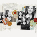 layout by kristasahlin featuring Autumn Afternoon Collection by Precocious Paper and Sahin Studio