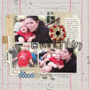 layout created by kristasahlin featuring Black Rimmed Plastic Alpha by Sahlin Studio